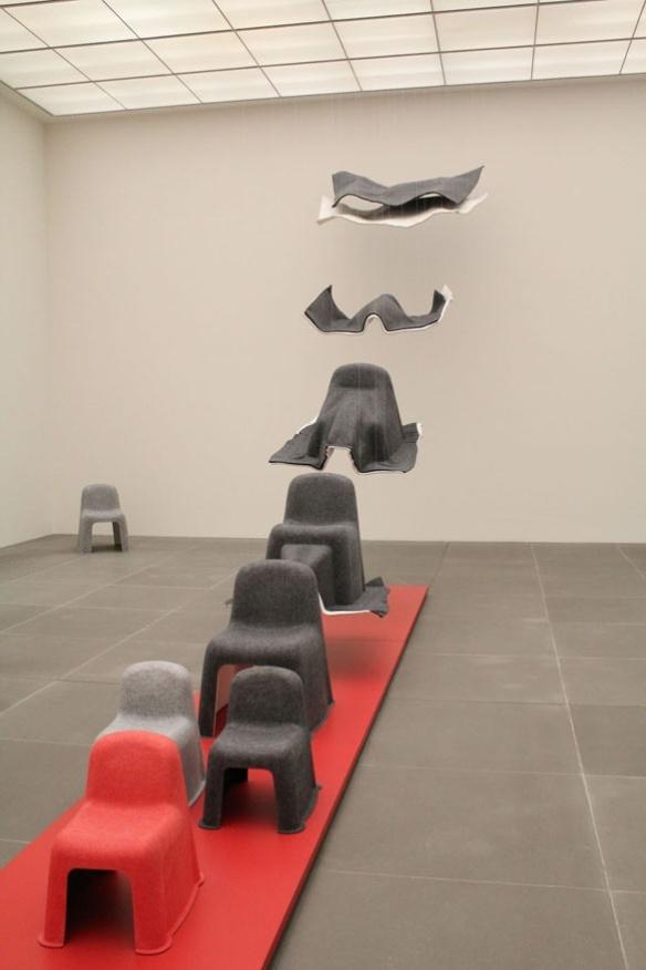Komplot design process chairs in Neues Museum Nürnberg