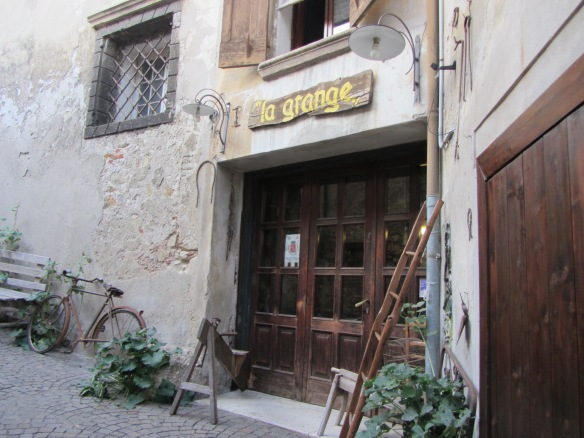 A hidden antique shop in Asolo