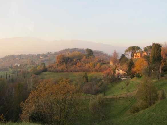 Northern Italy landscape