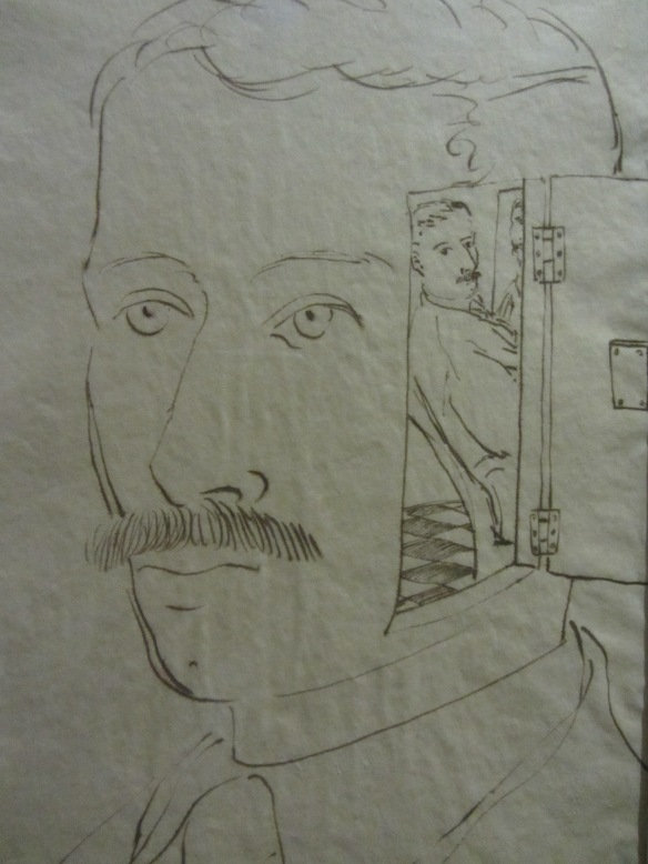Piero Fornasetti - Self portrait