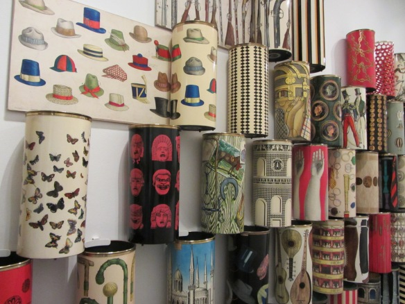 Umbrella stand by Piero Fornasetti