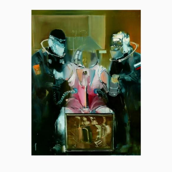 Contemporary art Imre Debreczeni-the birt of sci-fi Hungary
