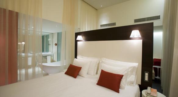 Nhow Milano guestroom