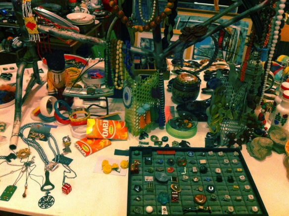 Reused, recycles - accessories at Colorbar Budapest