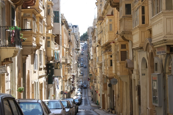 Old Bakery Street Valletta