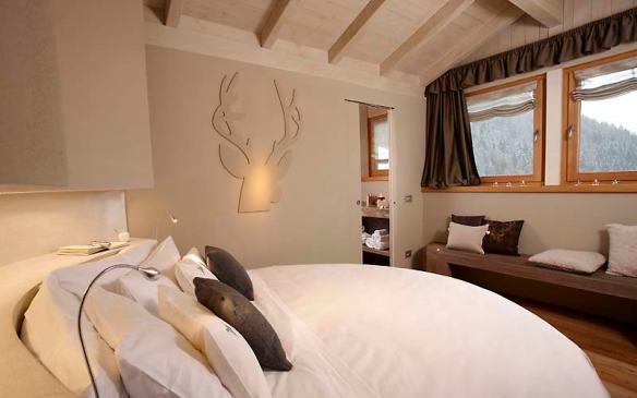 Bio Hotel Hermitage suite, Madonna di Campiglio, Italy