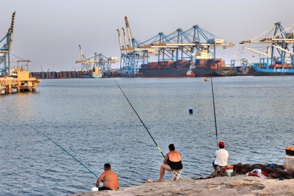 Fishermen Birzebbuga Malta