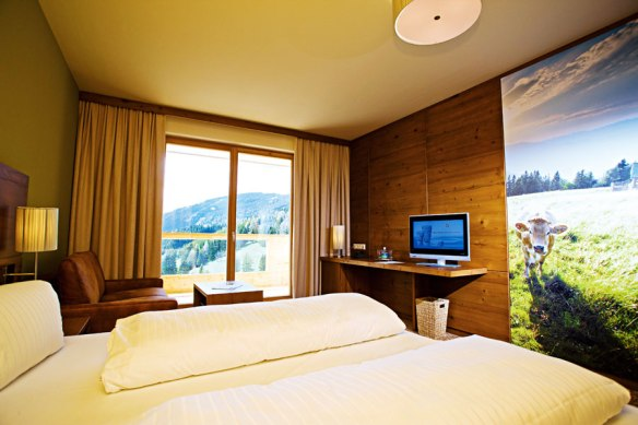 Hochlantsch room Almwellness Hotel Pierer, Fladnitz, Austria