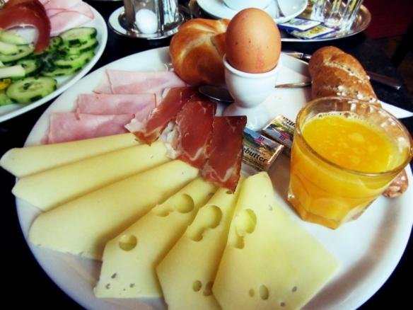 Jelinek breakfast Cafe Jelinek Vienna