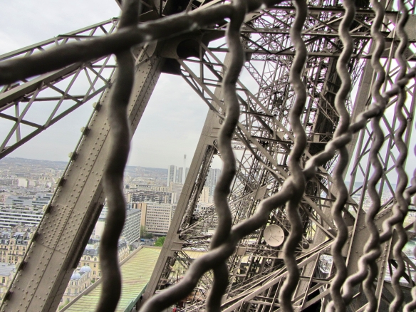 Inside the Eiffel Tower 2