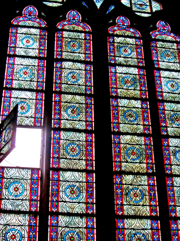 The Notre Dame window