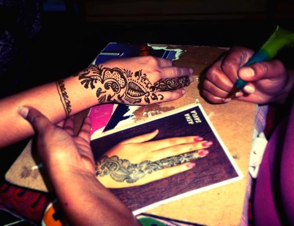 Henna Bangalore India