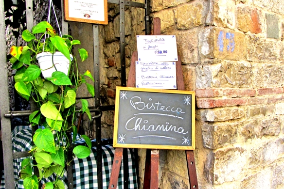 Il Guerrino restaurant Montefioralle