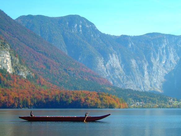 Boat ride on Hallstatter See