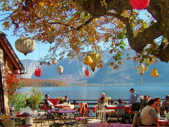 Lakeside restaurant Hallstatt