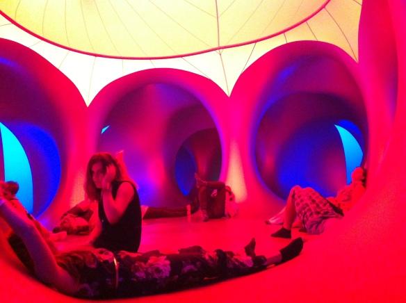 Sziget Festival chill at Luminarium 2014