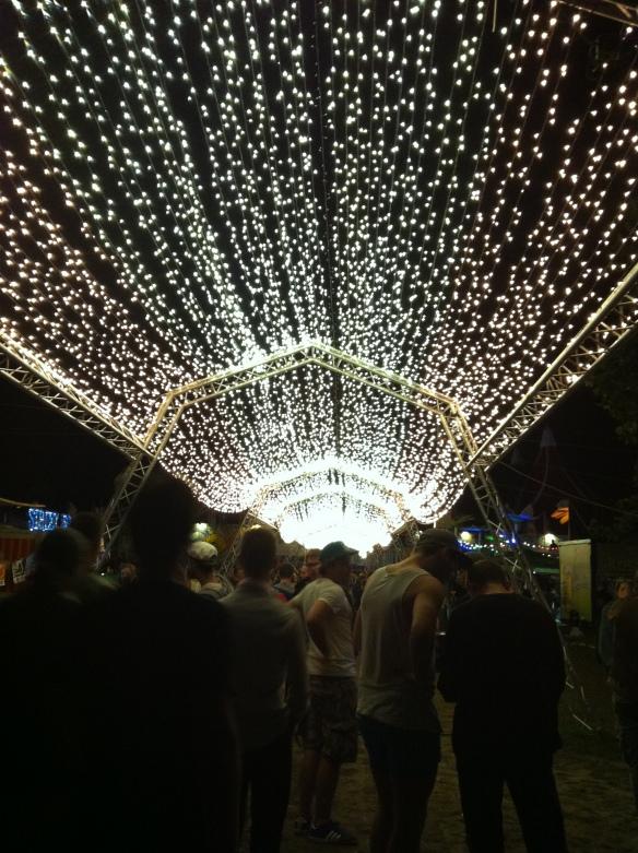 Sziget Festival 2014 lights