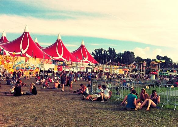Sziget Festival chill 2014