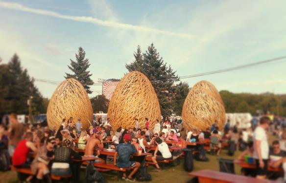 Sziget Festival dining 2014