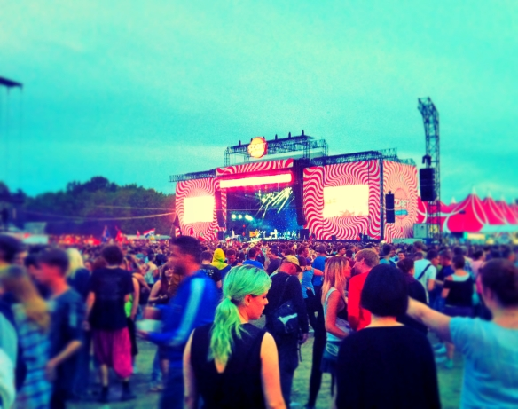 Sziget Festival pop-rock main stage 2014
