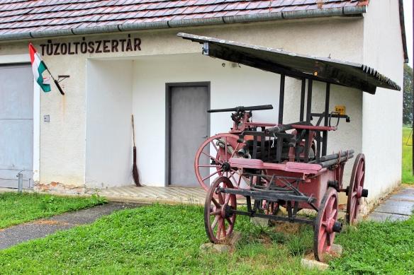 Fire station Magyarszombatfa
