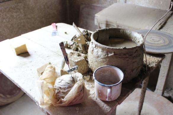 Clay raw material Zsohar Gyula Oriszentpeter
