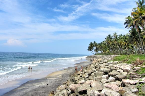 Silent Varkala beach