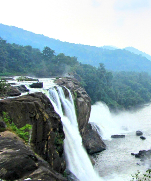 Athirapally waterfalls the Niagara of India Kerala