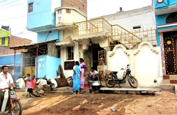 Tamil Nadu village scene
