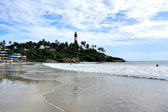 Kovalam lighthouse Kerala India
