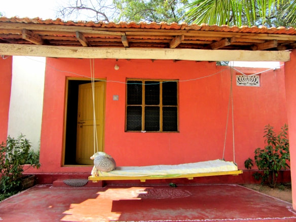 Gowri resort stone cottage Hampi India