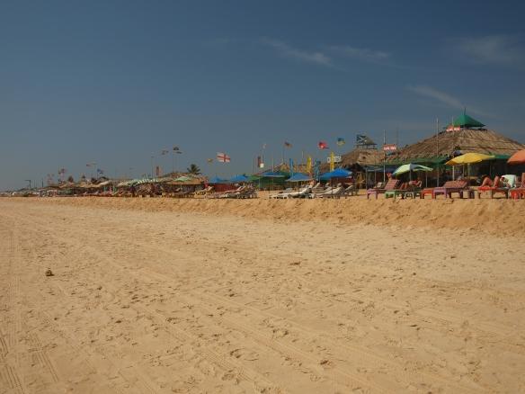 Candolim beach Goa India