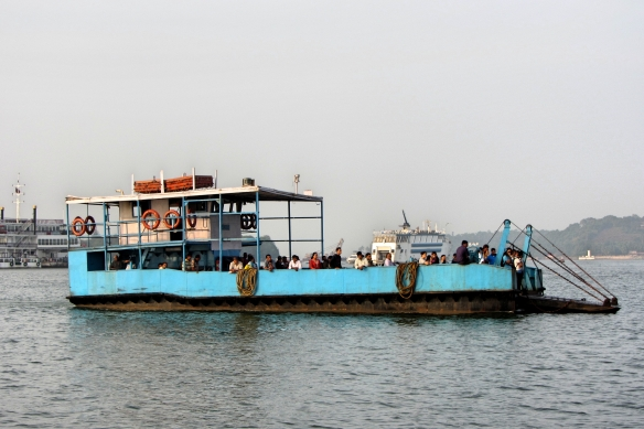 Panjim Betim ferry Goa India