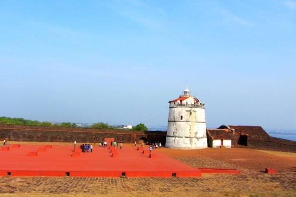 Fort Aguada North Goa India