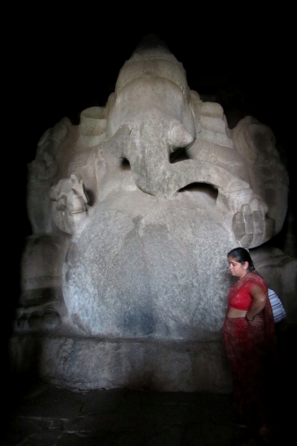 Ganesha contemplating