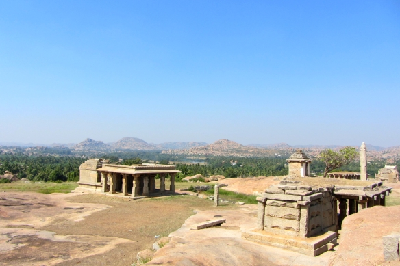 Hemakuta hill Hampi India