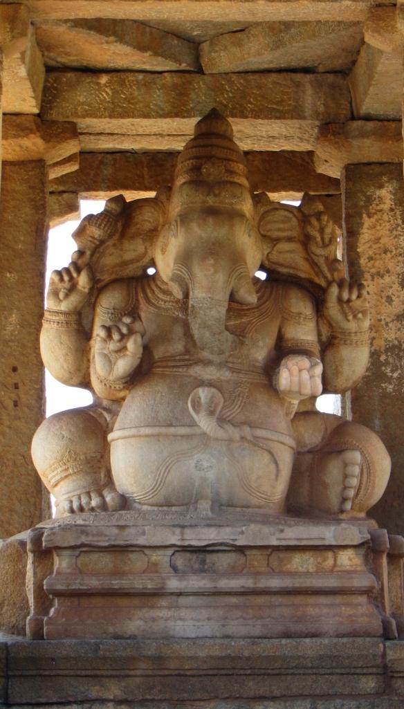 Sasivekalu Ganesha Temple Hampi India