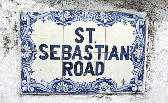 St Sebastian Road Panjim Goa India