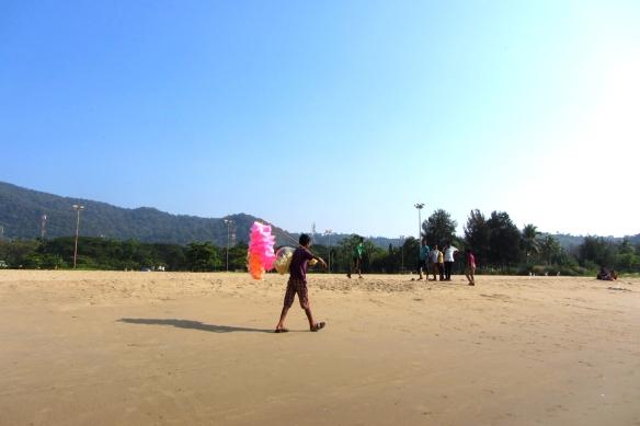 Karwar beach india