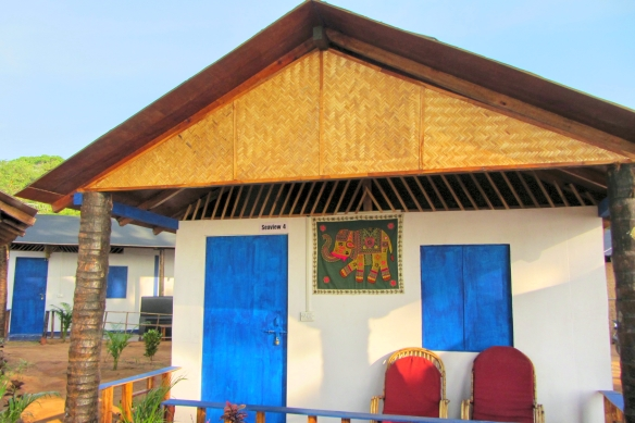Peace garden beach hut talon beach canacona south goa india