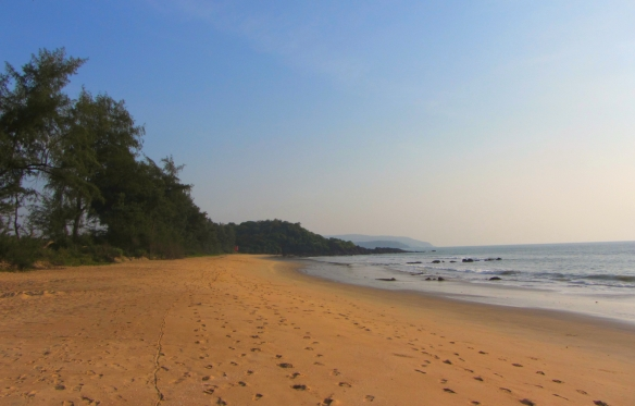 Talpona beach Canacona South Goa India