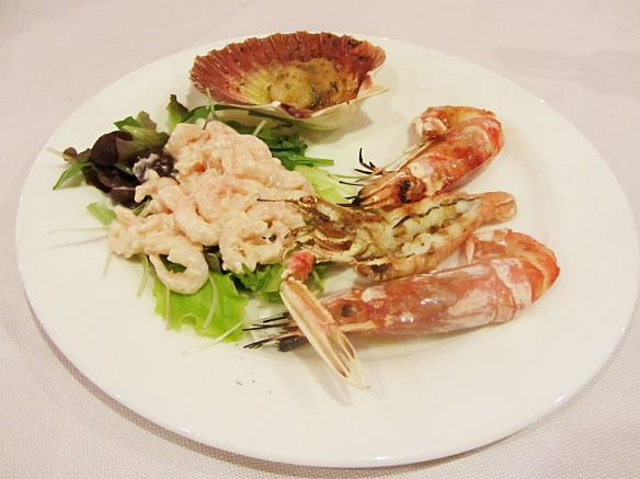 Italy seafood Padova restaurant