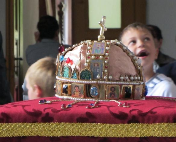 Hungarian crown Tiszakürt
